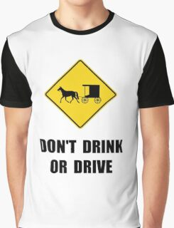Amish Drink Graphic T-Shirt