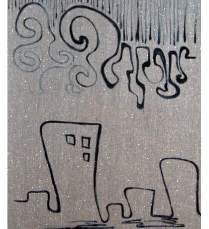 rain, 2011, 50-70cm, acrylic on canvas Sticker