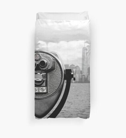 Manhattan NY Duvet Cover