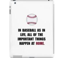 Baseball Home iPad Case/Skin