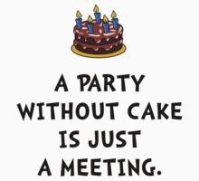 Cake Meeting Baby Tee