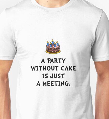 Cake Meeting Unisex T-Shirt