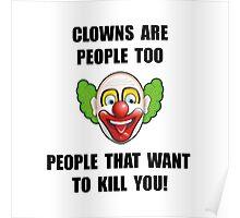 Clown Kill Poster