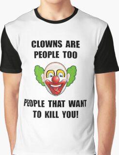 Clown Kill Graphic T-Shirt