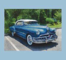 Blue 1951 Pontiac One Piece - Short Sleeve