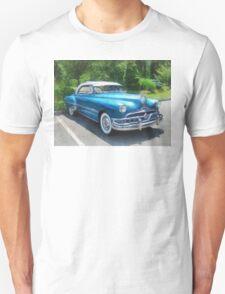 Blue 1951 Pontiac Unisex T-Shirt