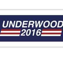 Frank Underwood for president Sticker