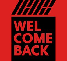 iKON welcome back black edition Unisex T-Shirt