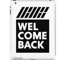 iKON welcome back black edition iPad Case/Skin