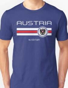 Euro 2016 Football - Austria (Home Red) T-Shirt