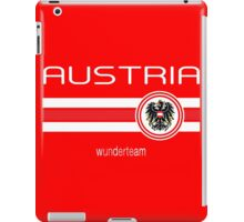 Euro 2016 Football - Austria (Home Red) iPad Case/Skin