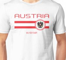 Euro 2016 Football - Austria (Away White) Unisex T-Shirt