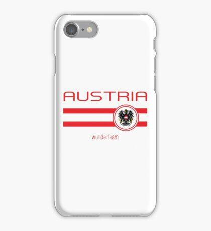 Euro 2016 Football - Austria (Away White) iPhone Case/Skin
