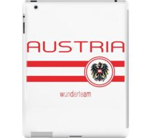 Euro 2016 Football - Austria (Away White) iPad Case/Skin