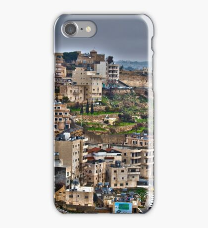 Panorama of Bethlehem iPhone Case/Skin