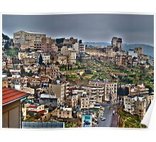 Panorama of Bethlehem Poster