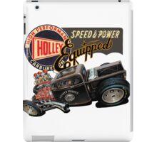 Holley Carburetor Performance Equiped iPad Case/Skin