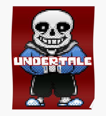 SANS - UNDERTALE Poster
