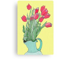 Red Tulips ~  Canvas Print