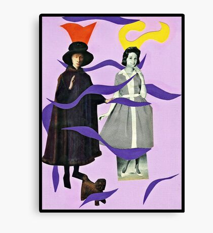 . . .she called him Mister Hat. . . Canvas Print