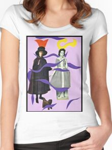 . . .she called him Mister Hat. . . Women's Fitted Scoop T-Shirt