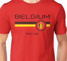 Euro 2016 Football - Belgium (Home Red) Unisex T-Shirt