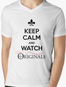 Keep Calm And Watch The Originals Mens V-Neck T-Shirt