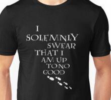 I Solemnly Swear That I Am Up To No Good (White) Unisex T-Shirt