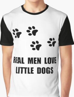 Love Little Dogs Graphic T-Shirt