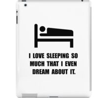 Love Sleeping iPad Case/Skin