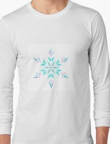 Snowflake II Long Sleeve T-Shirt
