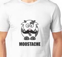 Moostache Cow Unisex T-Shirt