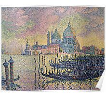 Paul Signac - Entrance To The Grand Canal Venice Poster