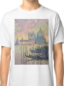 Paul Signac - Entrance To The Grand Canal Venice Classic T-Shirt