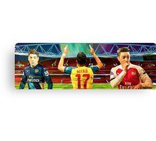 Low Poly Arsenal Canvas Print