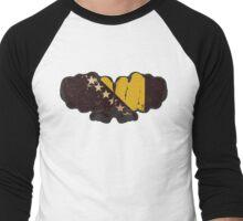Bosnia-Herzegovina! Men's Baseball ¾ T-Shirt