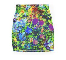 The Neon Garden Mini Skirt