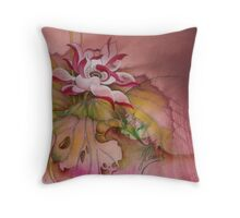 """""""Twilight Whispers"""" from the series """"In the Garden of Lotus"""" Throw Pillow"""