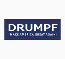 Donald Drumpf Campaign Logo  Kids Tee
