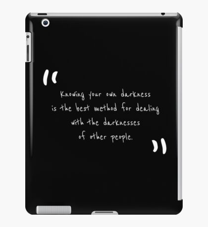 Quote by Carl Gustav Jung iPad Case/Skin