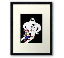 Ness & Buzz Buzz vs Starman Jr. Framed Print