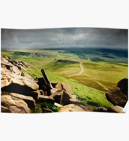 Hathersage Moor Poster