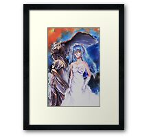 Rei bride Framed Print