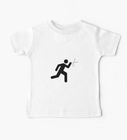 Run With Scissors Baby Tee