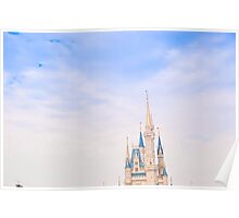 Top of the castle spires Poster
