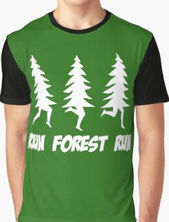 Run Forest Run Graphic T-Shirt