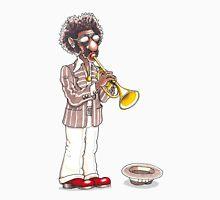 Funky Busker Trumpet Unisex T-Shirt