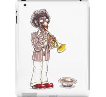 Funky Busker Trumpet iPad Case/Skin