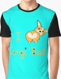 I Heart Corgi Butt Graphic T-Shirt