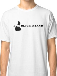 I Heart Block Island Classic T-Shirt
